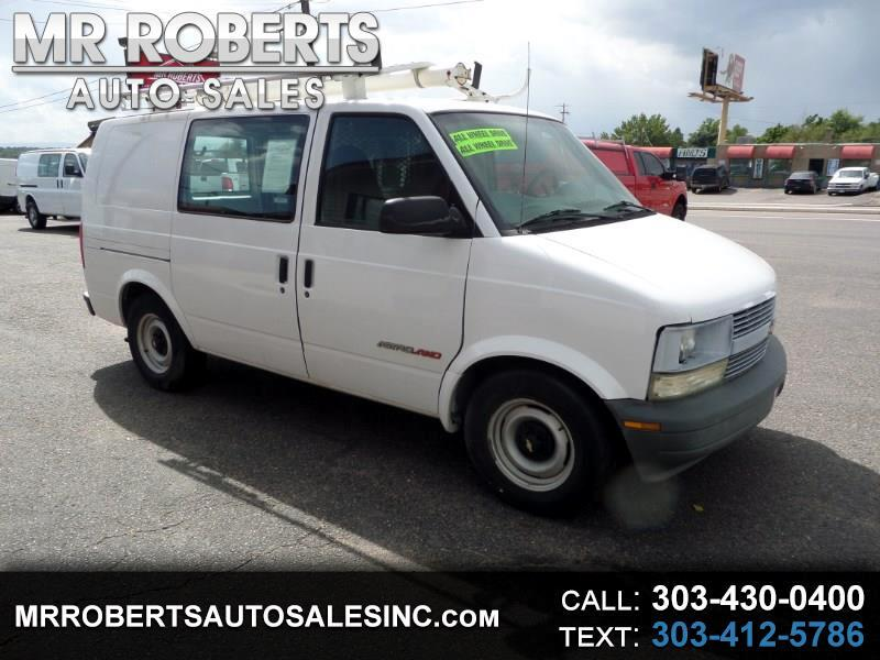 "2000 Chevrolet Astro Cargo Van 111.2"" WB AWD"