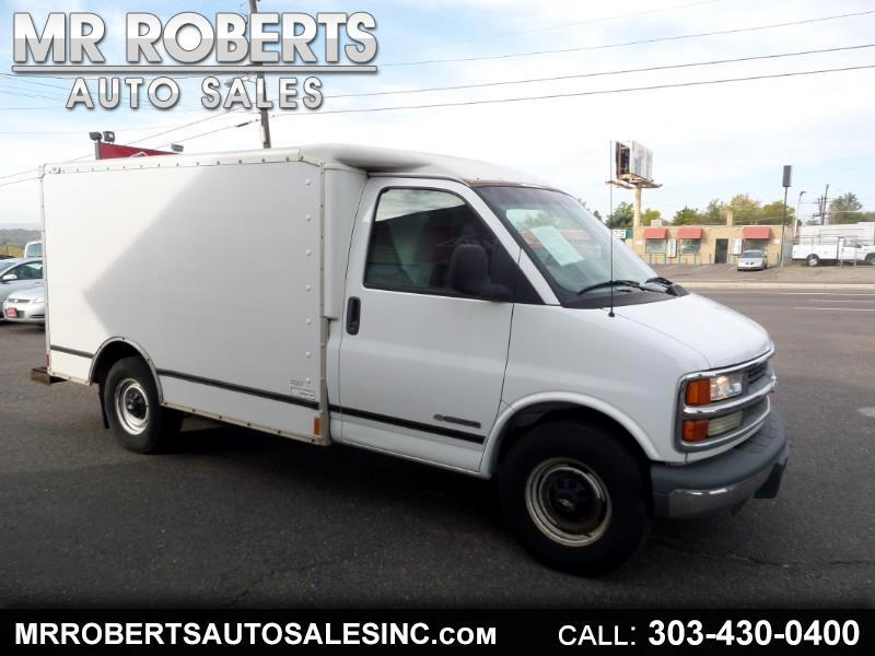 "Chevrolet Express Commercial Cutaway 139"" WB E23 2001"