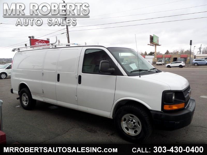 """Chevrolet Express Cargo Van RWD 2500 155"""" 2011"""