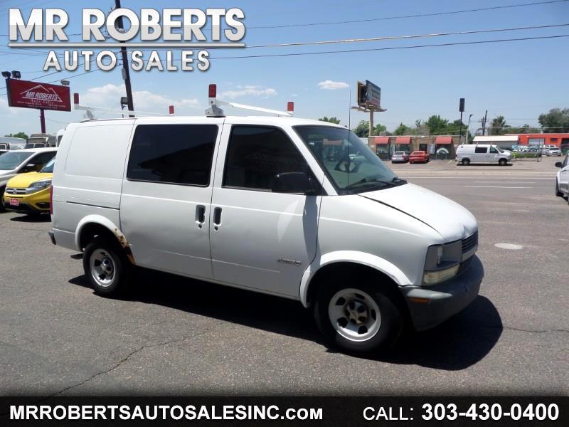 """Chevrolet Astro Cargo Van 111.2"""" WB RWD 2001"""