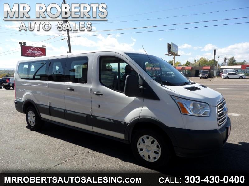 """Ford Transit Wagon T-350 148"""" Low Roof XLT Swing-Out RH Dr 2016"""