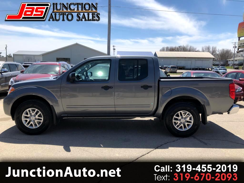 2018 Nissan Frontier SV Crew Cab 5AT 4WD
