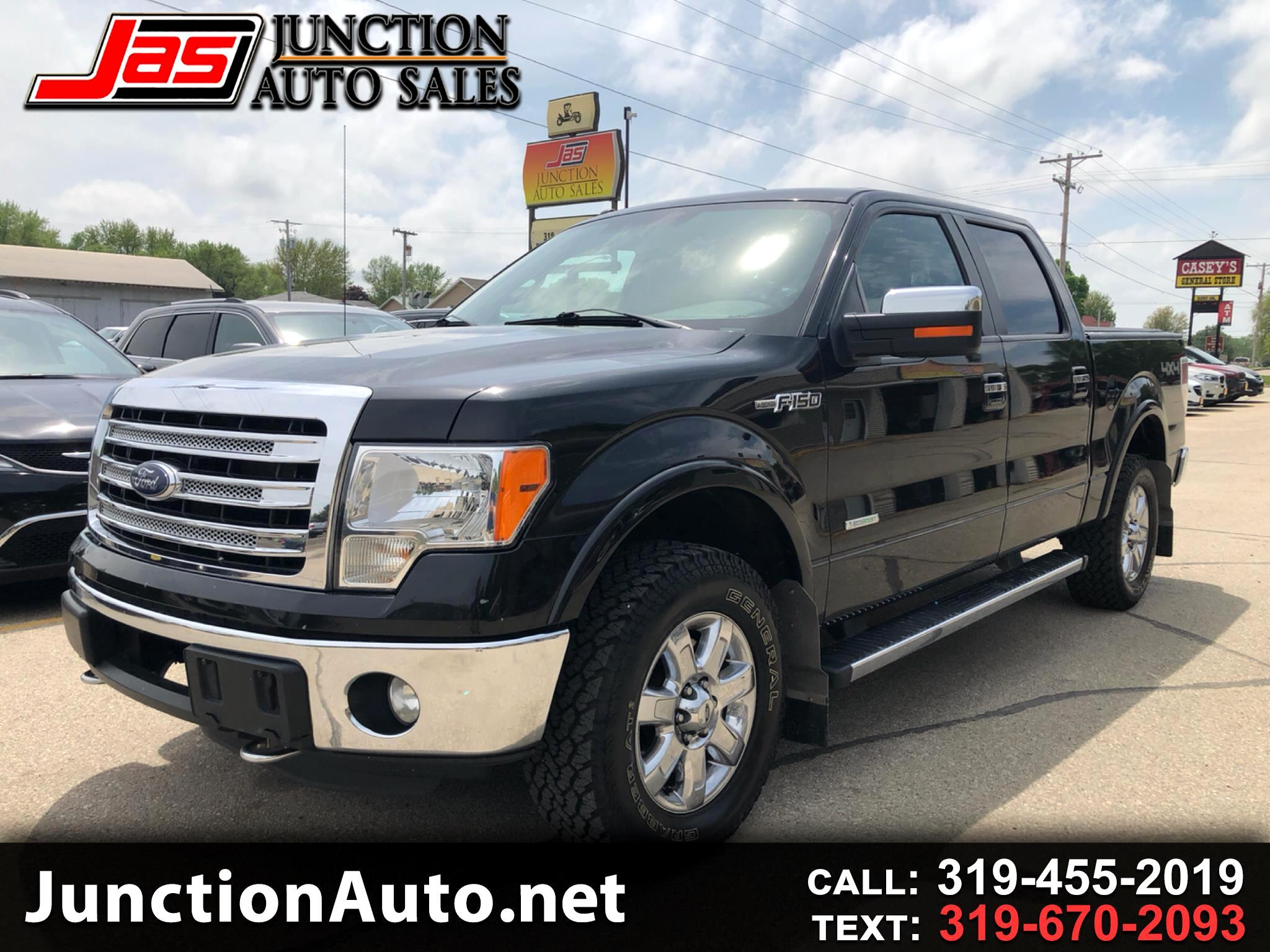 "2013 Ford F-150 SuperCrew 139"" Lariat 4WD"