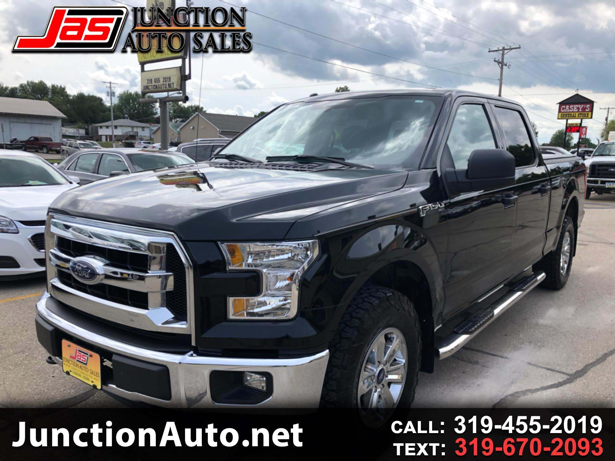 "2016 Ford F-150 4WD SuperCrew 150"" FX4"
