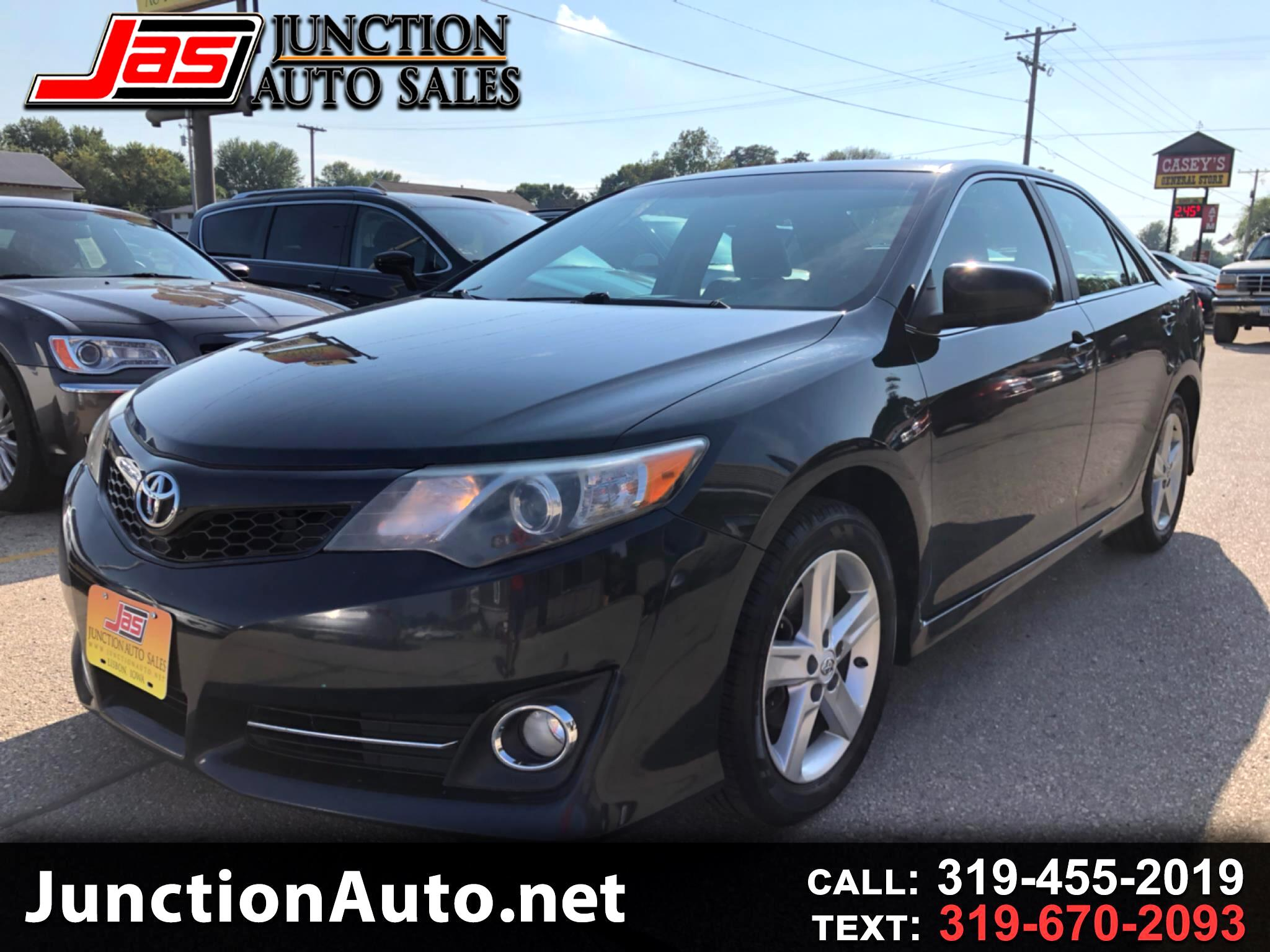 Junction Auto Sales >> Used 2012 Toyota Camry Se Auto Natl For Sale In Lisbon Ia
