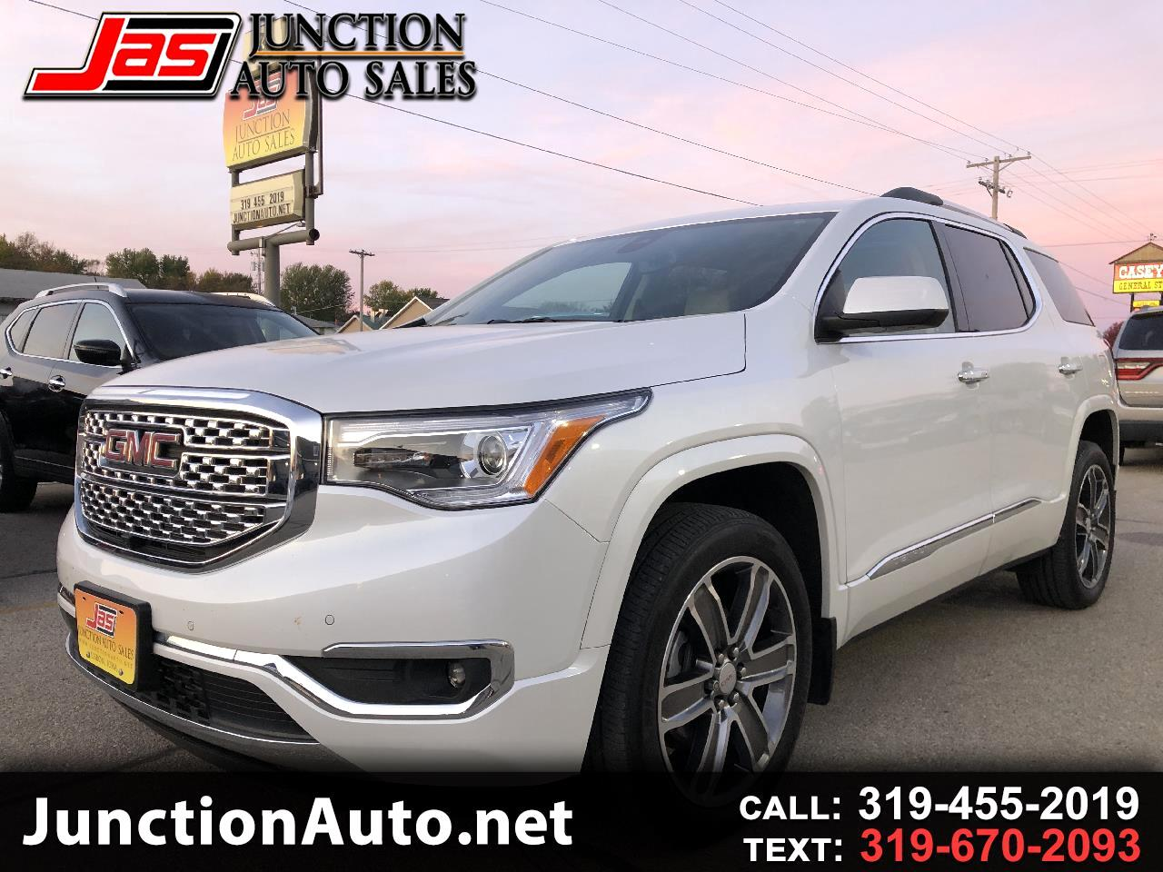 Gmc Acadia Denali For Sale >> Used 2017 Gmc Acadia Denali Awd For Sale In Lisbon Ia 52253