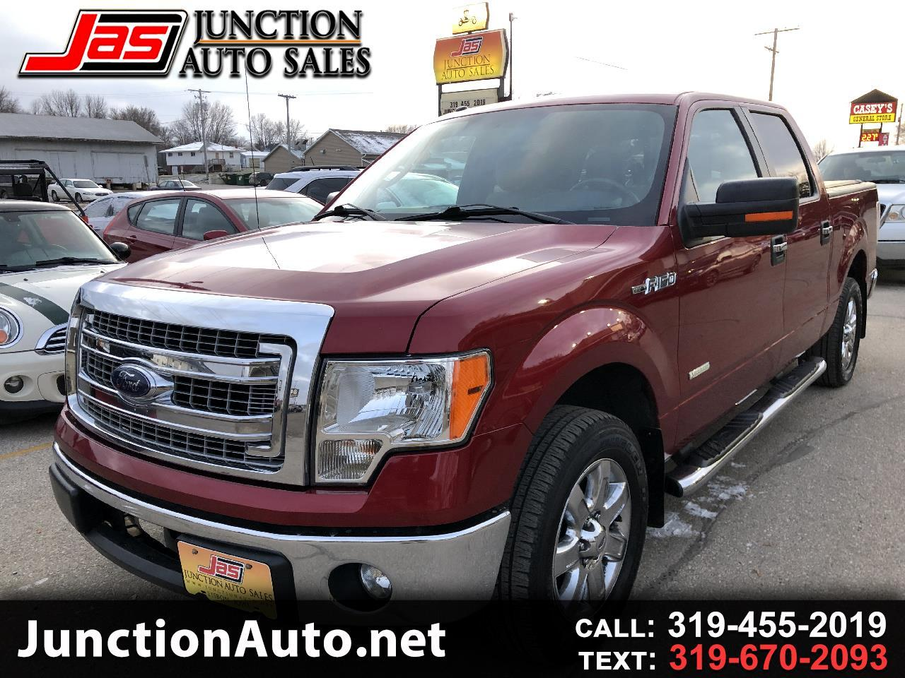 "Ford F-150 2WD SuperCrew 150"" XLT 2013"