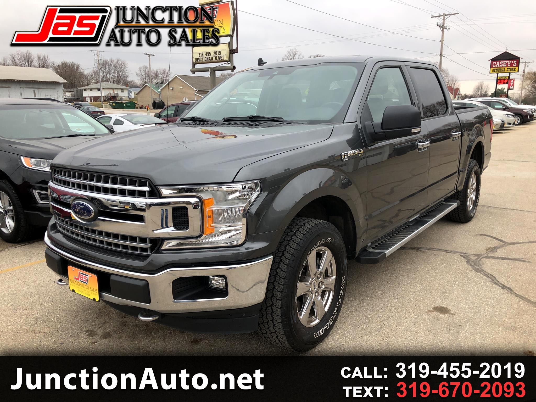 Ford F-150 SuperCrew 4WD 2019