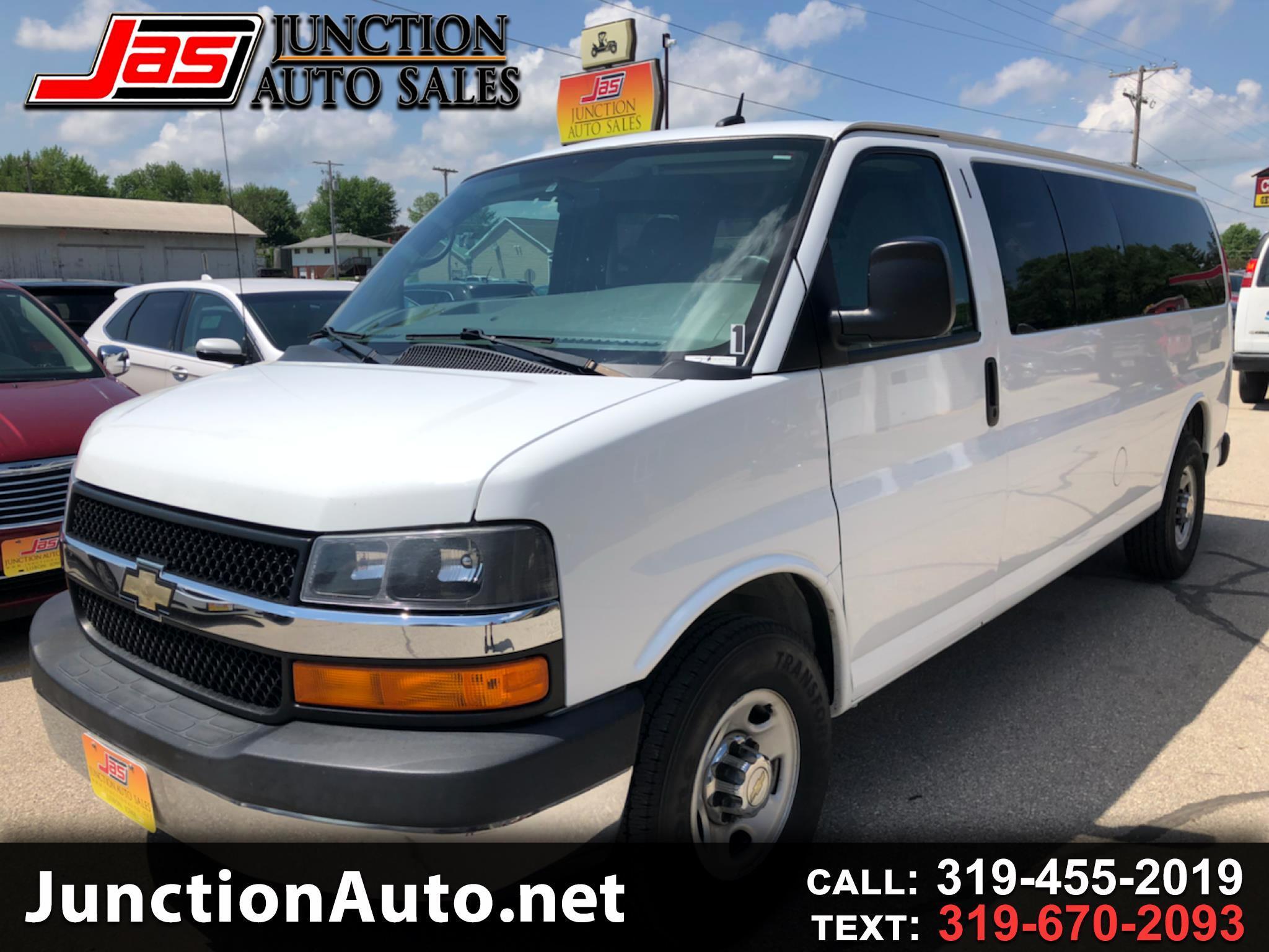 Chevrolet Express LT 3500 Extended 2015