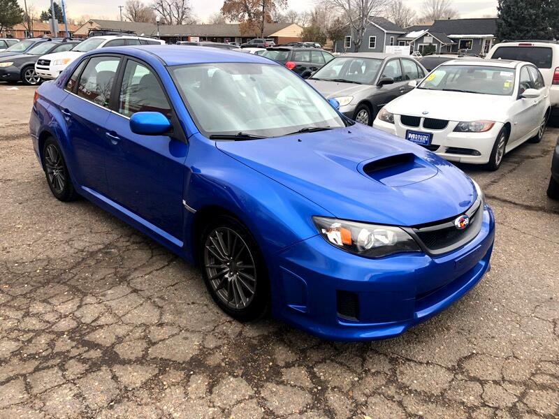 2011 Subaru Impreza WRX 4-Door