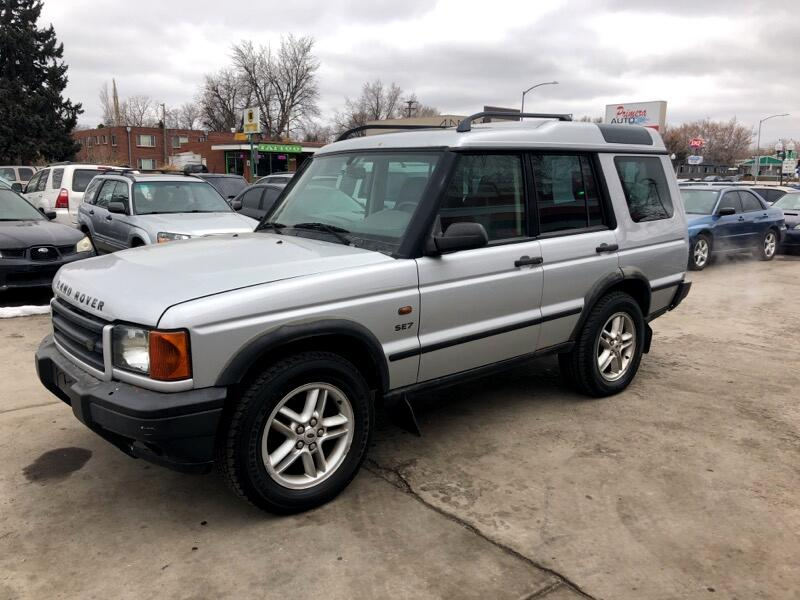 2002 Land Rover Discovery Series II SE