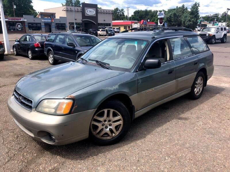 2001 Subaru Outback 2.5i Basic Wagon