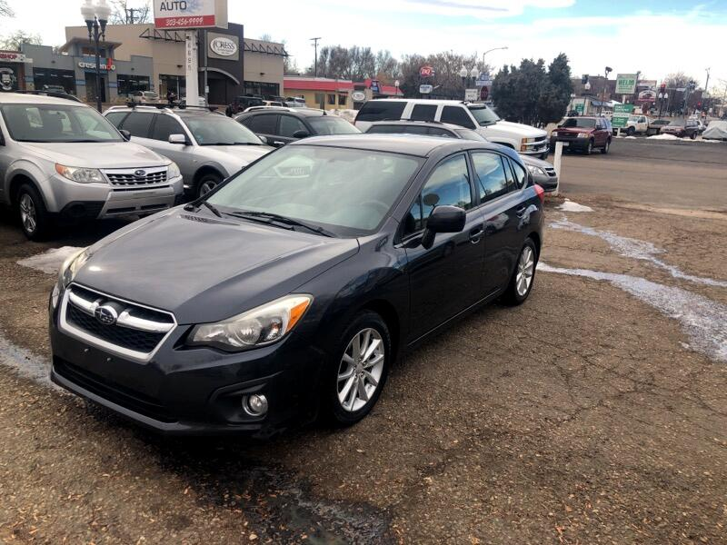 Subaru Impreza 2.0i Premium 5-Door w/All Weather Package 2013