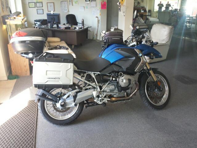 2012 BMW R1200GS gs