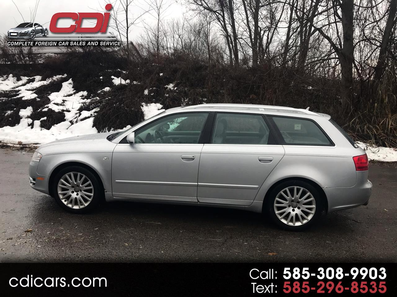 2006 Audi A4 Avant 2.0 T quattro with Tiptronic