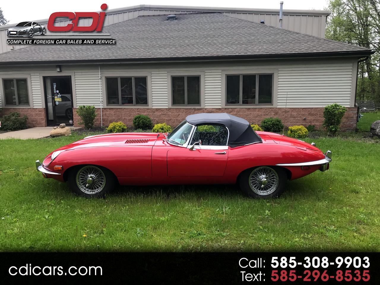 1970 Jaguar XK-E conv