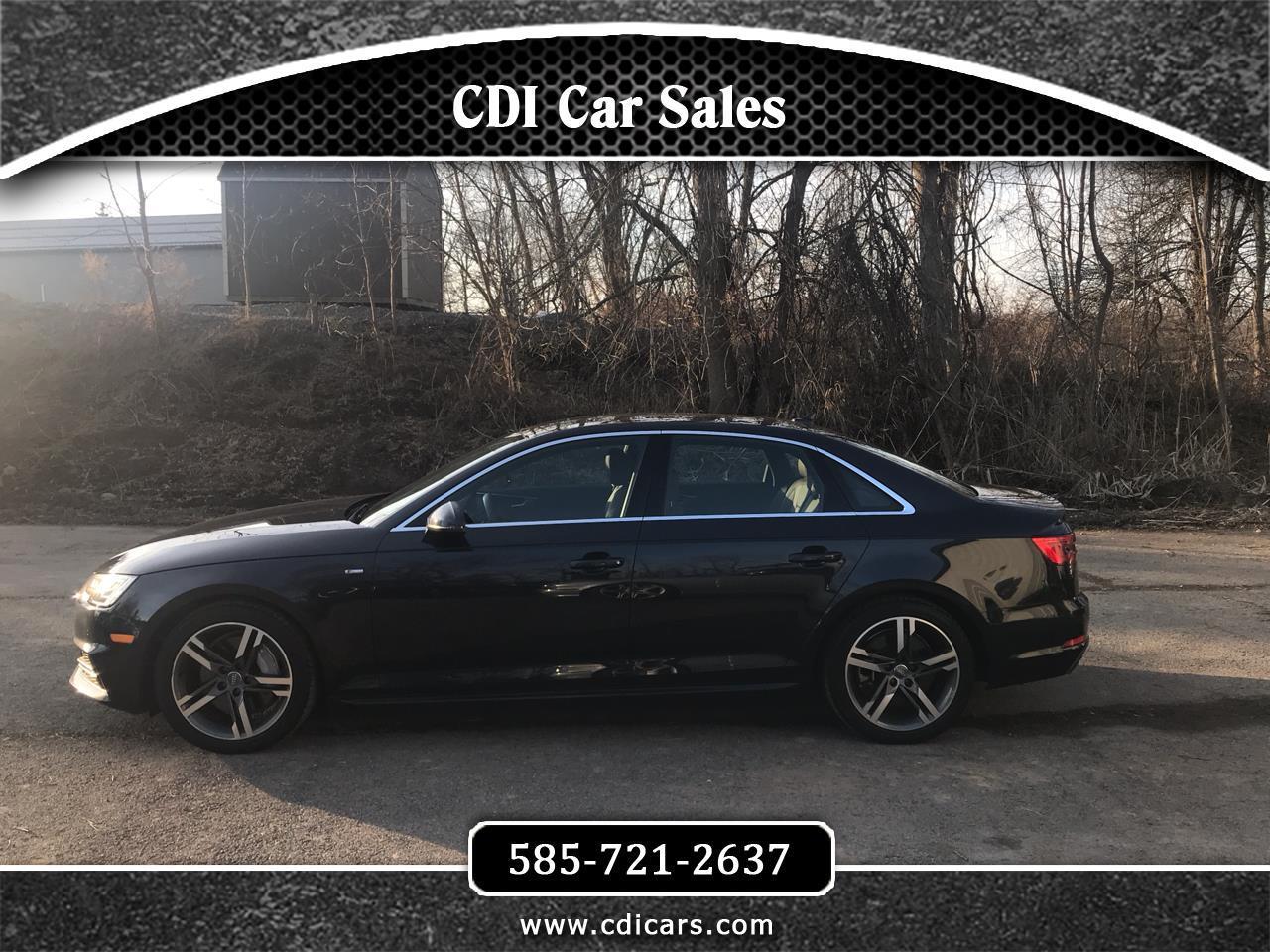Audi A4 2.0T Premium Plus quattro Sedan 2017