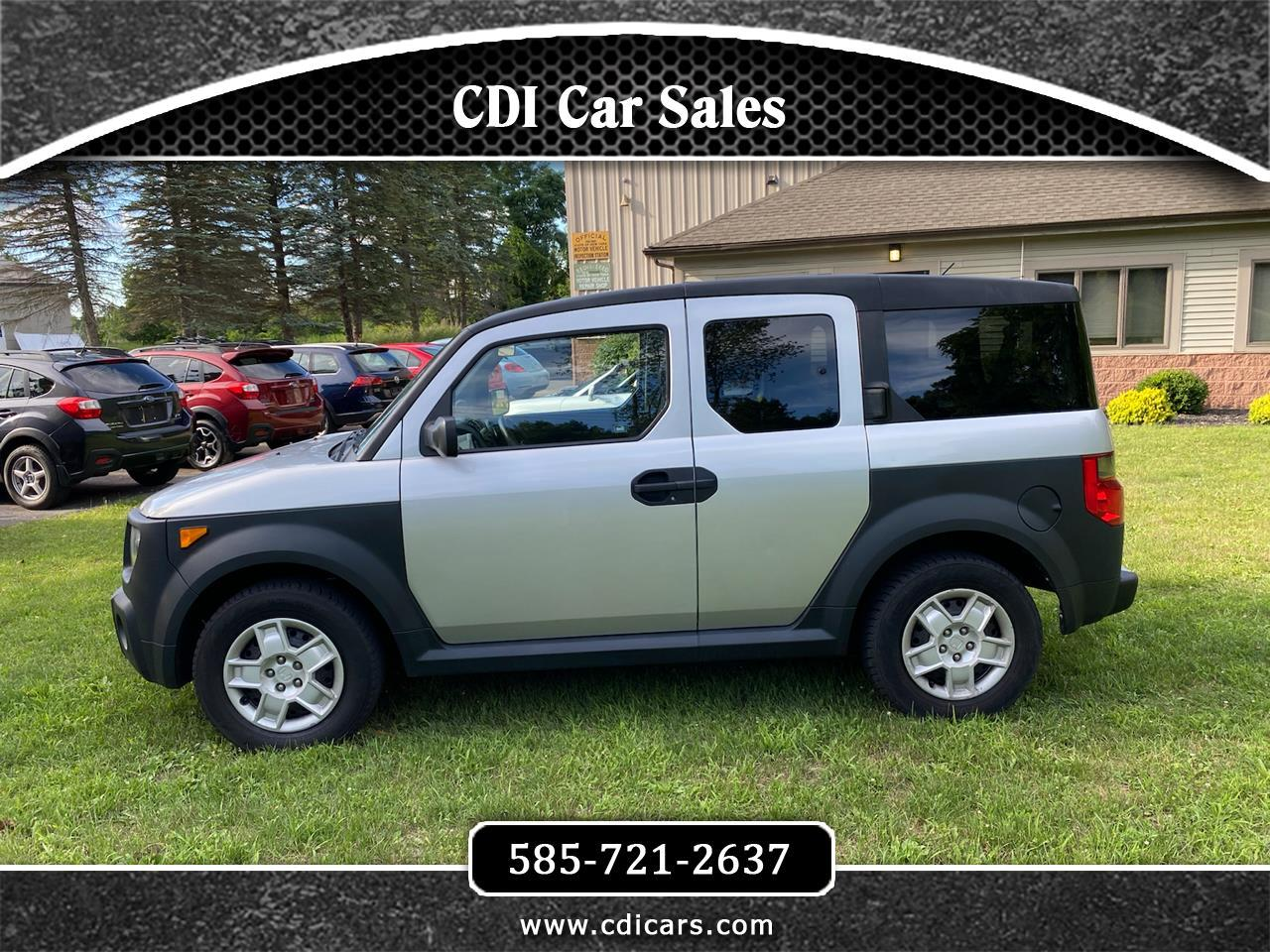 Used 2008 Honda Element Lx 4wd At For Sale In Victor Ny 14564 Cdi Car Sales