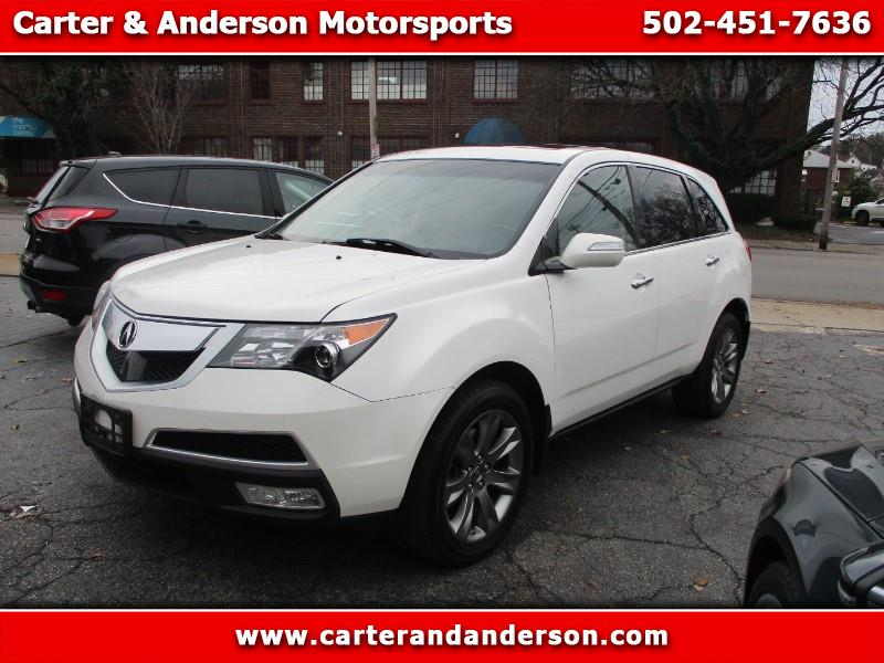 2011 Acura MDX 6-Spd AT w/Advance Package