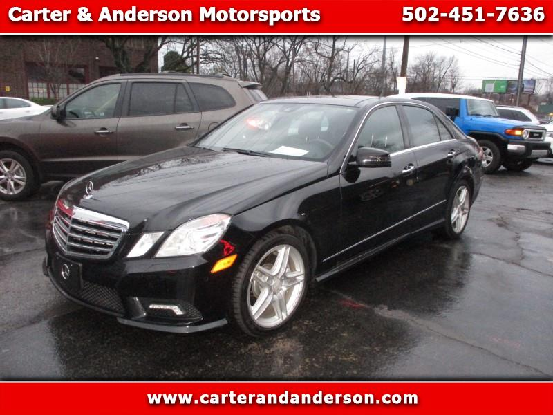 2011 Mercedes-Benz E-Class E550 Sedan 4MATIC