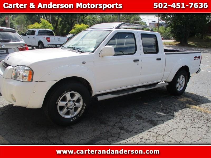 Nissan Frontier XE-V6 Crew Cab Long Bed 4WD 2003