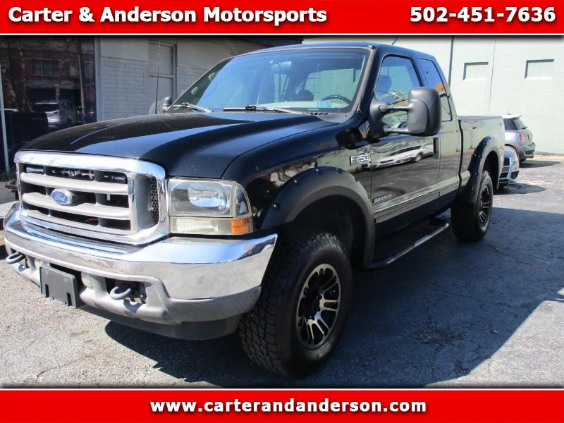 Ford F-250 SD Lariat SuperCab Long Bed 4WD 2001