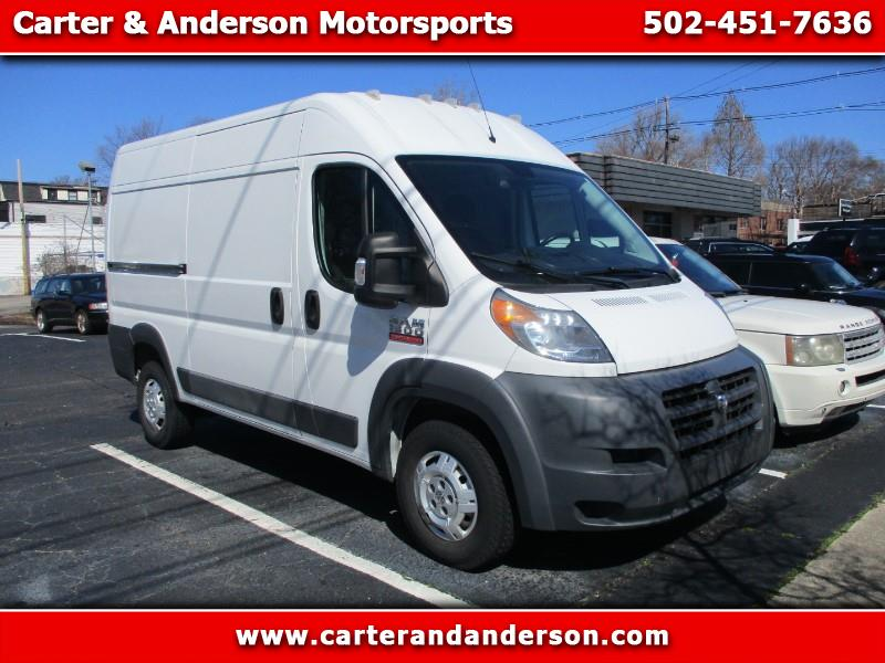 RAM Promaster 1500 High Roof Tradesman 136-in. WB 2016