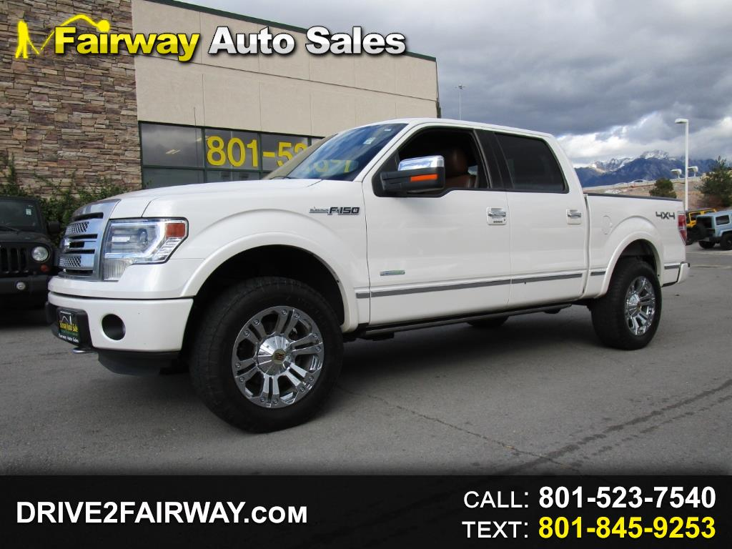 2014 Ford F-150 Platinum 4WD SuperCrew 6.5' Box
