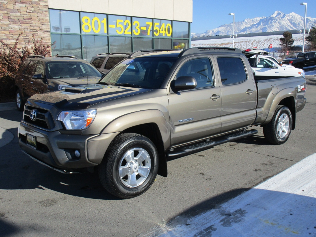 2013 Toyota Tacoma TRD Sport Double Cab 6' Bed V6 4x4 AT (Natl)
