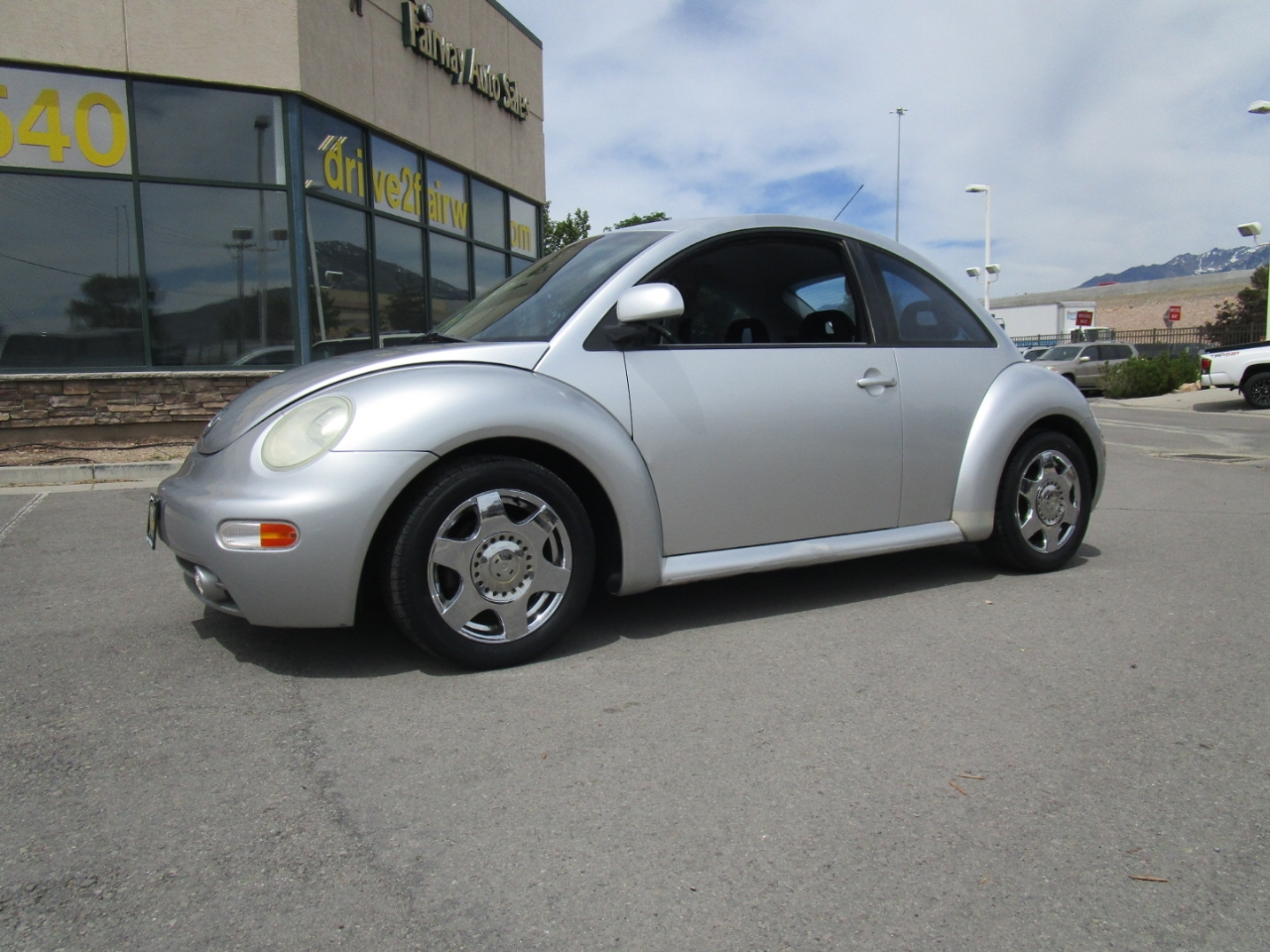 1998 Volkswagen New Beetle 2dr Cpe Manual