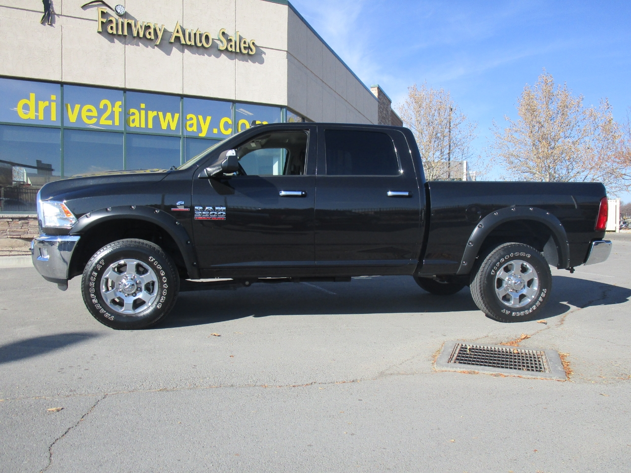 "RAM 3500 Big Horn 4x4 Crew Cab 6'4"" Box 2017"