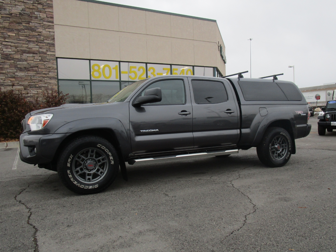 Toyota Tacoma 4WD Double Cab LB V6 AT TRD Off Road (Natl) 2013