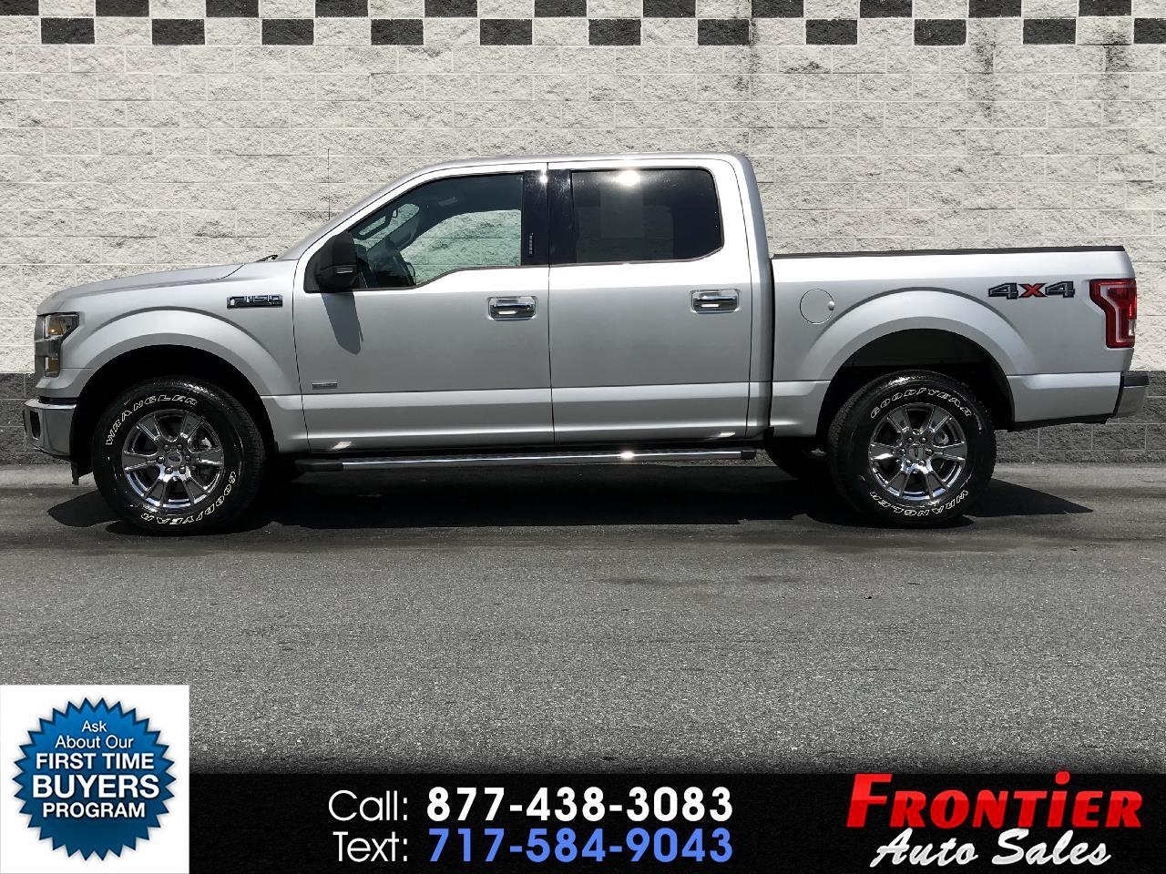 "2015 Ford F-150 4WD SuperCab 133"" XLT"
