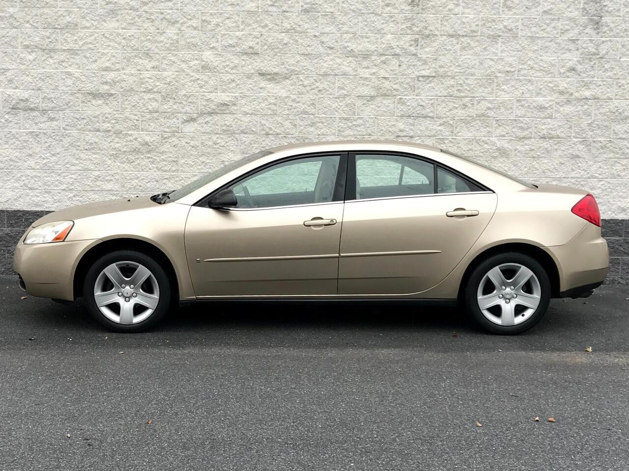 2007 Pontiac G6 4dr Sdn