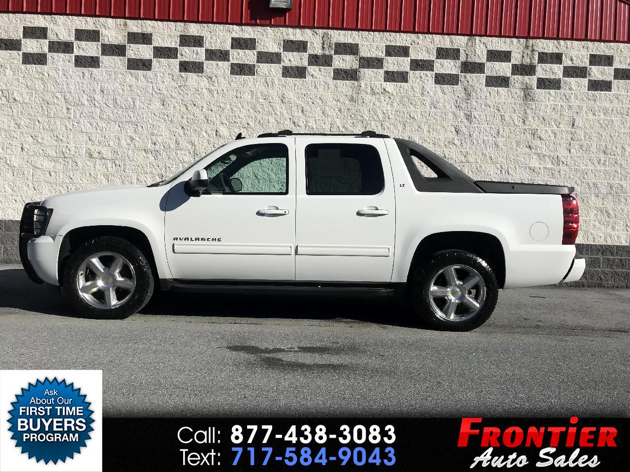 "2011 Chevrolet Avalanche 1500 5dr Crew Cab 130"" WB 4WD LT"