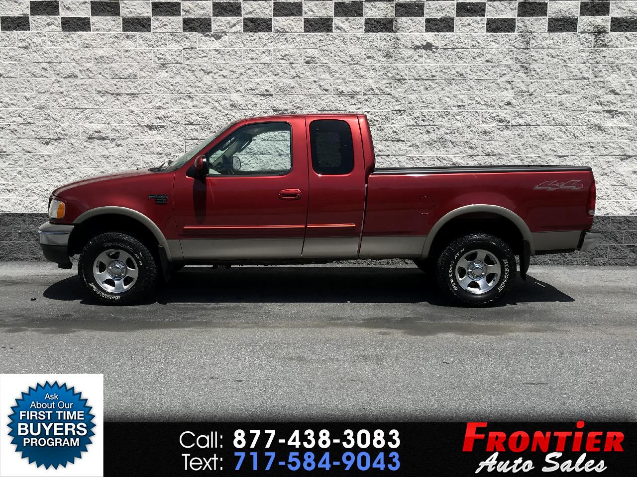 2002 Ford F-150 4WD SuperCab 163