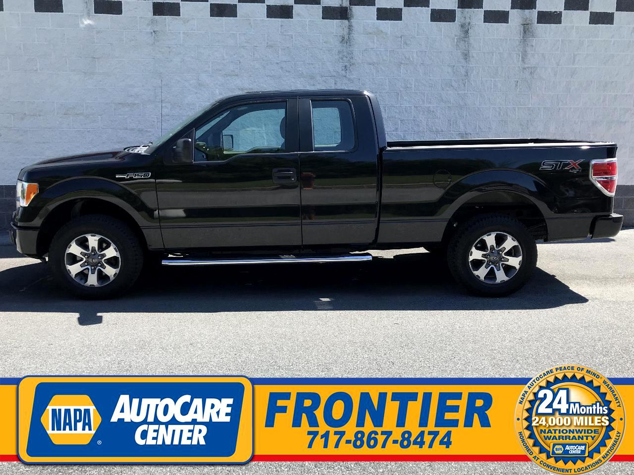 "Ford F-150 4WD SuperCab 145"" XLT 2014"