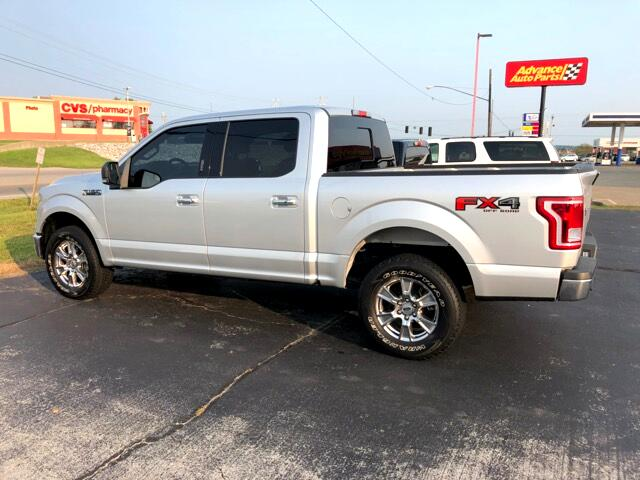 "2015 Ford F-150 4WD SuperCrew 139"" FX4"