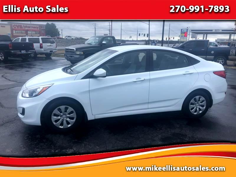 2016 Hyundai Accent GL 4-Door