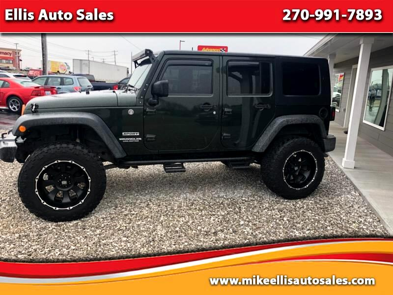 2010 Jeep Wrangler Unlimited Sport 4WD