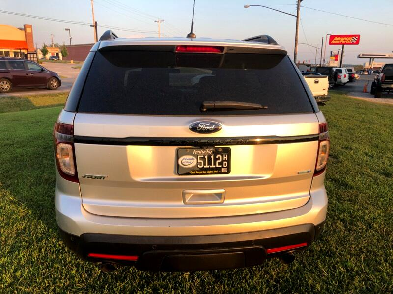 Ford Explorer Sport 4WD 2014