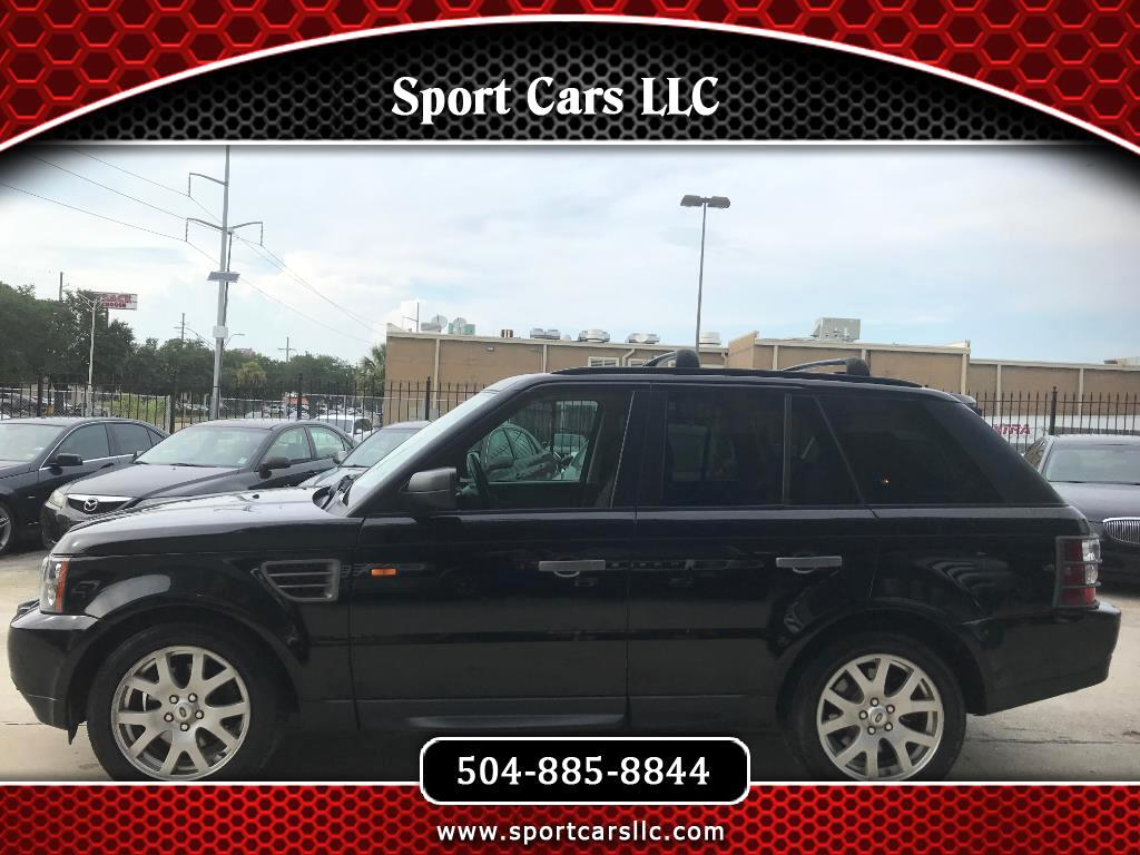 2008 Land Rover Range Rover Sport Luxury