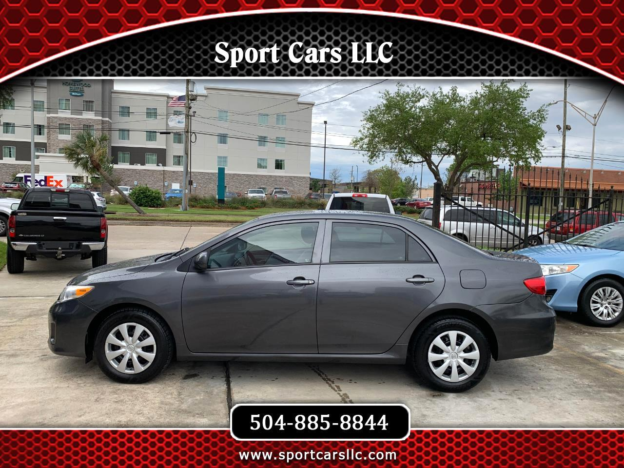 2013 Toyota Corolla L 4-Speed AT