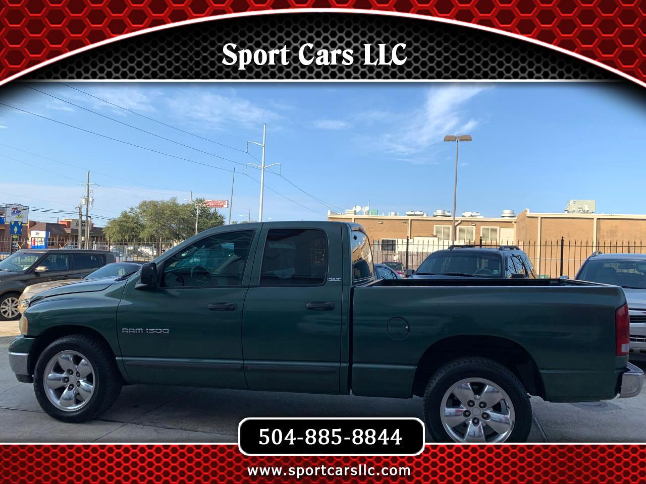 Dodge Ram 1500 SLT Quad Cab Short Bed 2WD 2002