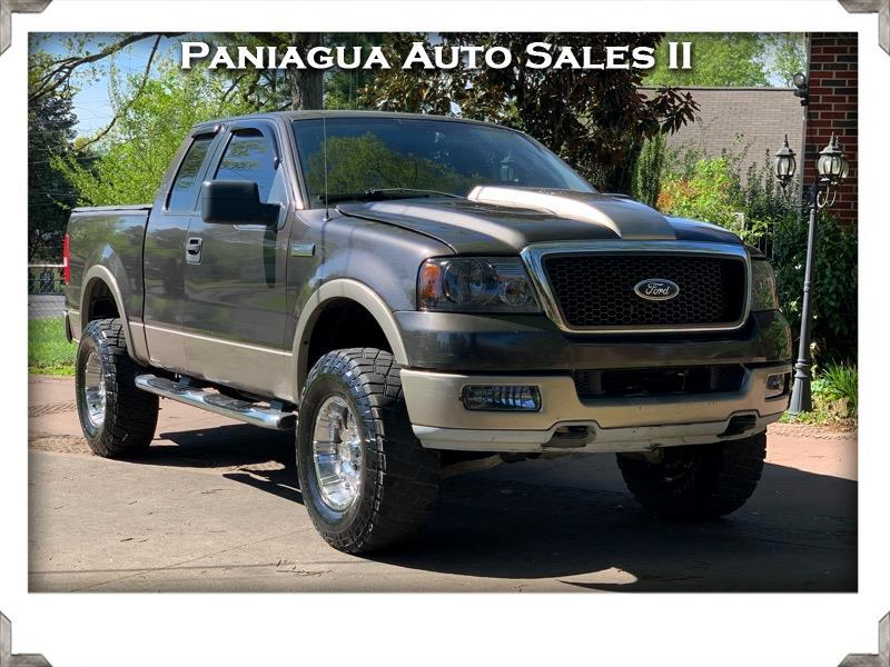 "2005 Ford F-150 4WD SuperCab 163"" Lariat w/HD Payload Pkg"