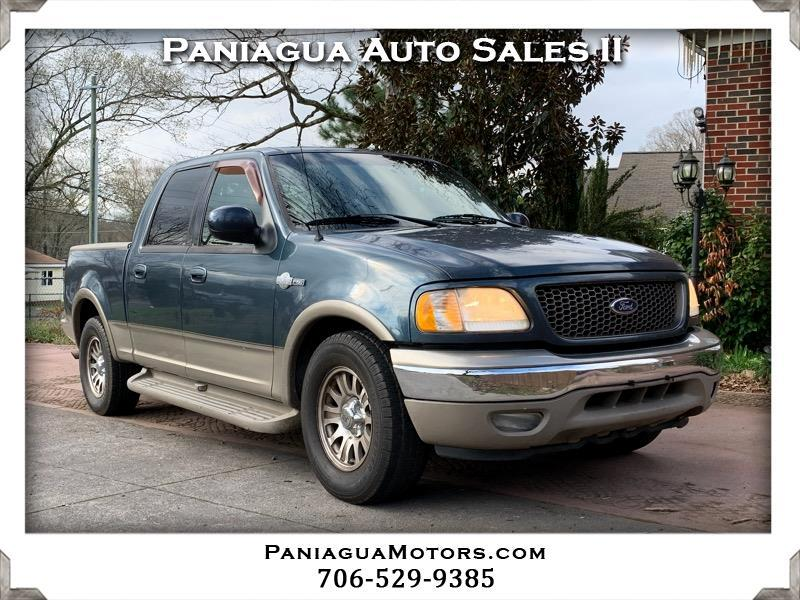 Ford F-150 King Ranch SuperCrew 2WD 2001