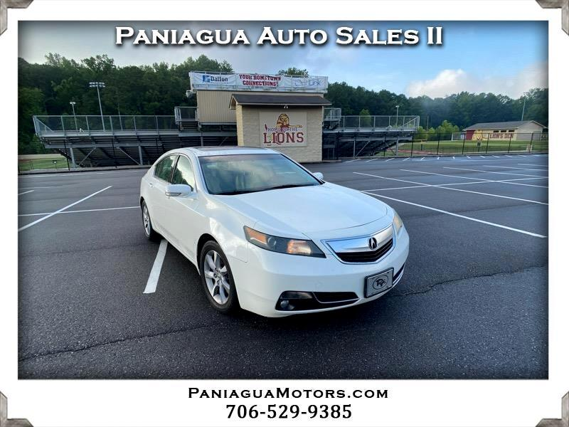 Acura TL 6-Speed AT with Tech Package and 18-In. WP 2012