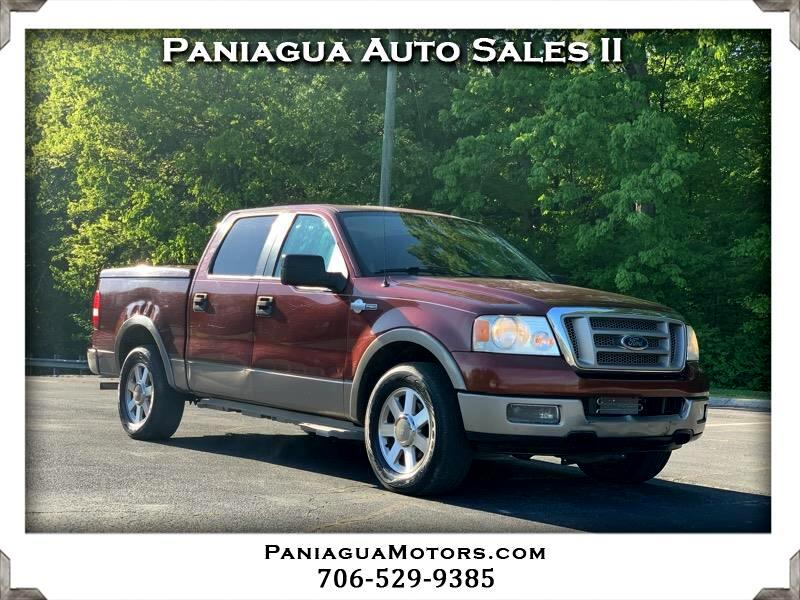 """Ford F-150 2WD SuperCrew 157"""" King Ranch 2005"""