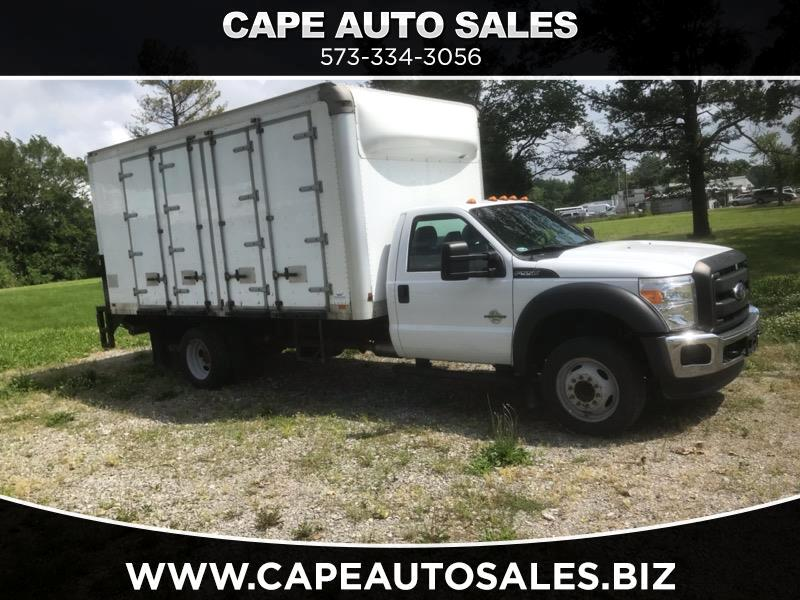 2015 Ford F-550 Regular Cab DRW 2WD