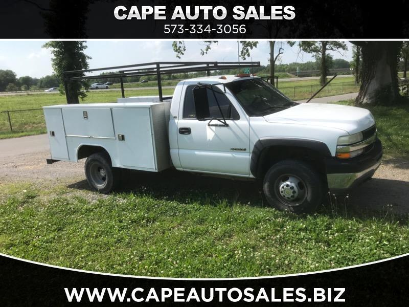 2002 Chevrolet Silverado 3500 4WD